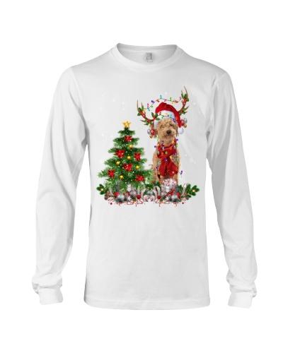 Poodle Crossbreed-Reindeer-Christmas