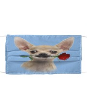 Chihuahua Rose FM Cloth face mask front