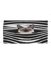 Thai Cat Stripes FM Cloth face mask front