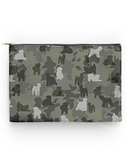 Wheaten Terrier-camouflage Accessory Pouch - Large thumbnail