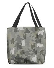 Wheaten Terrier-camouflage All-over Tote thumbnail