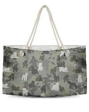 Wheaten Terrier-camouflage Weekender Tote thumbnail