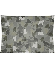 """Wheaten Terrier-camouflage Wall Tapestry - 36"""" x 26"""" thumbnail"""