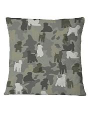 Wheaten Terrier-camouflage Square Pillowcase thumbnail
