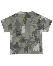 Wheaten Terrier-camouflage All-over T-Shirt back