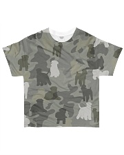 Wheaten Terrier-camouflage All-over T-Shirt front