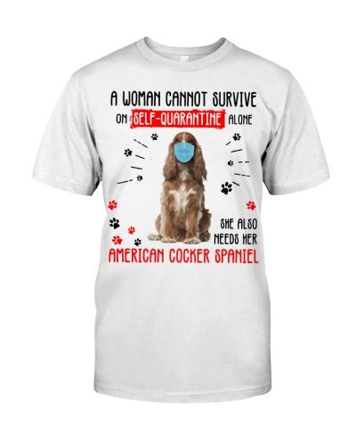 Quarantine Alone With American Cocker Spaniel