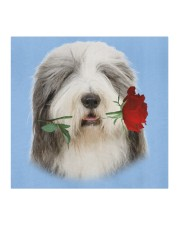 Bearded Collie Rose FM Cloth face mask aos-face-mask-coverlet-lifestyle-front-02
