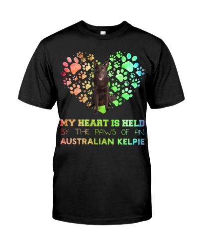 Australian Kelpie Heart Paw