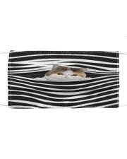 Exotic Shorthair Cat Stripes FM Cloth face mask front