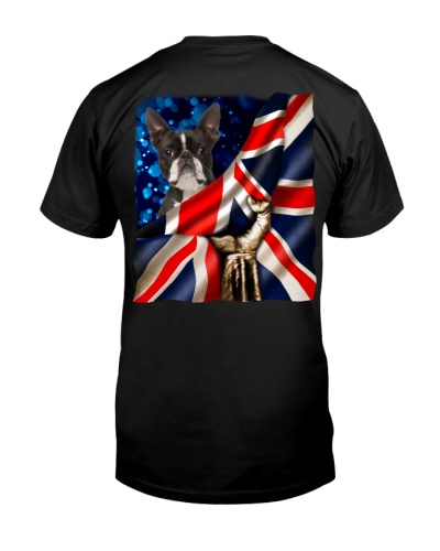 Boston Terrier-The Union Jack
