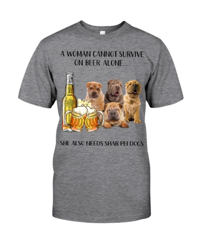 She Also Needs Shar Pei And Beer