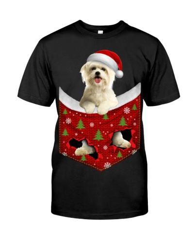Maltese-Christmas Pocket