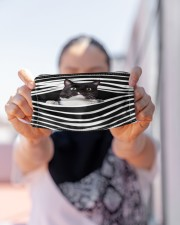 Tuxedo Cat Stripes FM Cloth face mask aos-face-mask-lifestyle-07