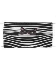 Tuxedo Cat Stripes FM Cloth face mask front