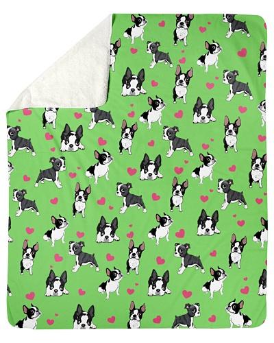 Boston Terrier-Heart-Blk