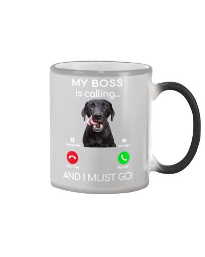 Black Labrador-Calling