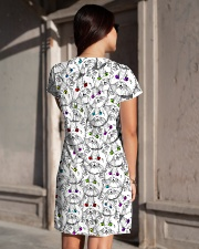 Cat - Eye Color All-over Dress aos-dress-back-lifestyle-1