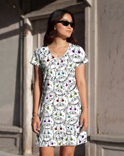Cat - Eye Color All-over Dress aos-dress-front-lifestyle-1