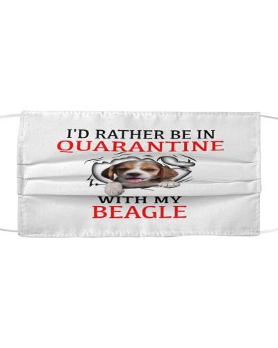 Quarantine With My Beagle Face