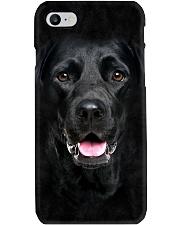 Black Labrador-Face and Hair Phone Case thumbnail