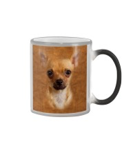 Chihuahua1-Face and Hair Color Changing Mug tile