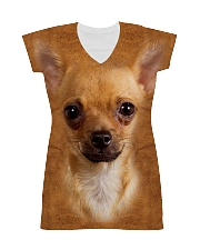 Chihuahua1-Face and Hair All-over Dress thumbnail