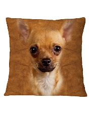 Chihuahua1-Face and Hair Square Pillowcase tile