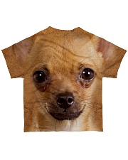 Chihuahua1-Face and Hair All-over T-Shirt back