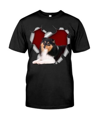 Shetland Sheepdog 2 Torn Heart