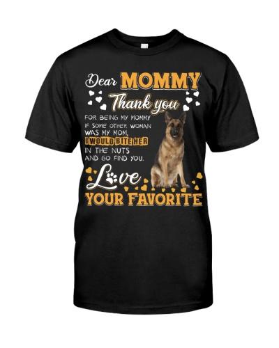 Dear Mommy-German Shepherd