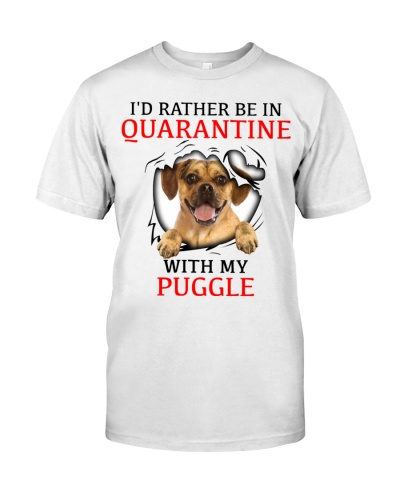 Quarantine With My Puggle