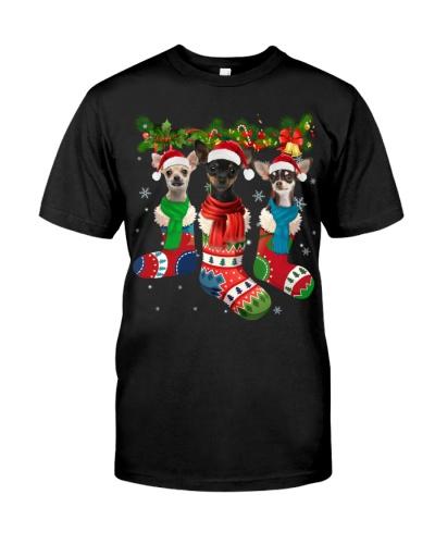 Chihuahua-Christmas Sock