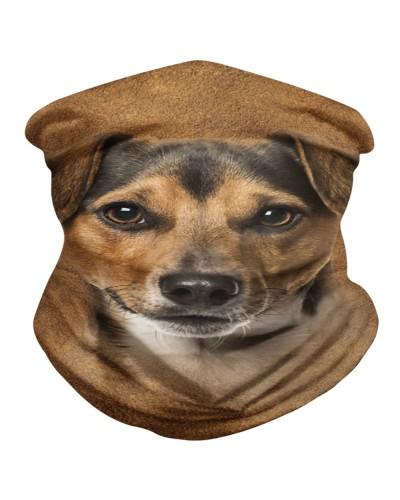 Jack Russell Terrier Face 3D BDN