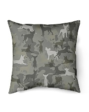 "Russkiy Toy-camouflage Indoor Pillow - 16"" x 16"" thumbnail"