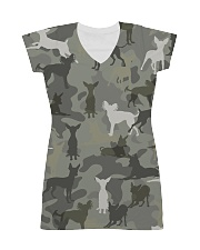 Russkiy Toy-camouflage All-over Dress thumbnail