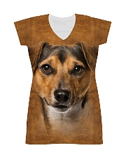 Jack Russell Terrier-Face and Hair All-over Dress thumbnail