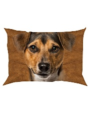 Jack Russell Terrier-Face and Hair Rectangular Pillowcase thumbnail