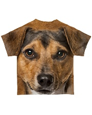 Jack Russell Terrier-Face and Hair All-over T-Shirt back