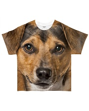 Jack Russell Terrier-Face and Hair All-over T-Shirt front