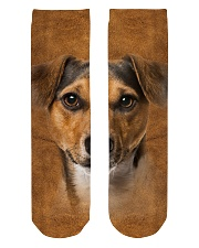 Jack Russell Terrier-Face and Hair Crew Length Socks thumbnail