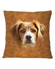 Brittany-Face and Hair Square Pillowcase thumbnail