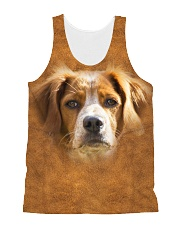 Brittany-Face and Hair All-over Unisex Tank thumbnail