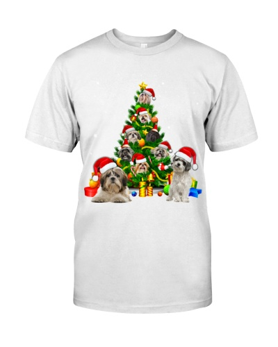 Shih Tzu-Christmas Tree