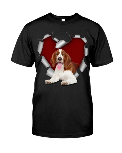 English Springer Spaniel Torn Heart