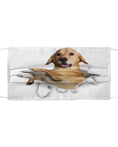 Labrador Torn Paper Face
