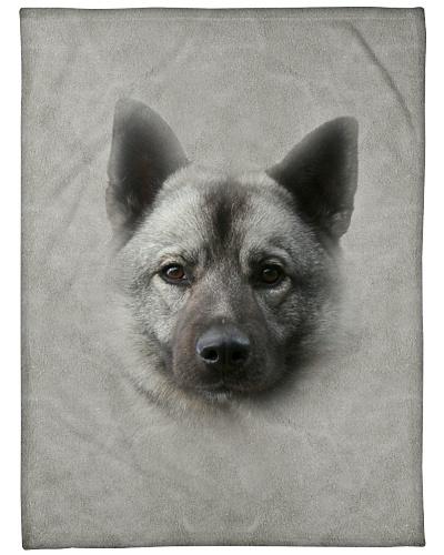 Norwegian Elkhound Face 3D