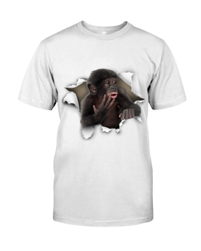 Monkey - Torn Paper