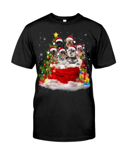 Schnauzer-Santa Claus Bag