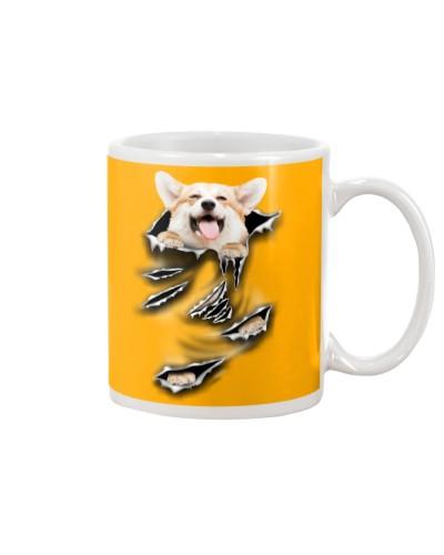 Pembroke Welsh Corgi-Scratch